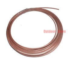 165 Feet RG316D RF Coaxial cable Double Copper Braid Shielded Coax cable