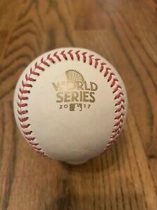 2017 World Series Rawlings Official Major League Baseball MLB - Astros Dodgers
