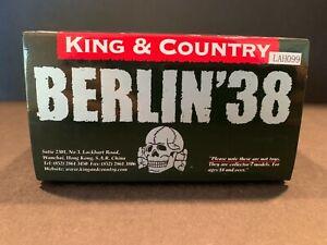 """KING & COUNTRY LAH099 WWII """"GERMAN LEADER & GERMAN SHEPHERD""""  (RETIRED SET) MIB!"""