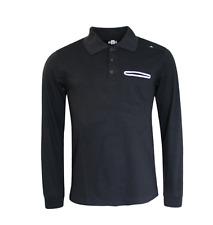 Adidas Originales NBA Baloncesto Mangas Largas Camisa Polo para hombre de Superdry en negro G86395