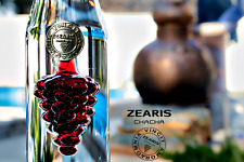 Zearis Chacha Luxury Grape Vodka + Handmade Glass 750ml Gift Box+Bag+Free Ship