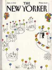 New Yorker COVER 01/02/1984 - New Year Party - LEVIN