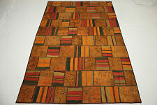 Orient Tapis Vintage Patchwork Design moderne Used Look 310x200 handmade 2653