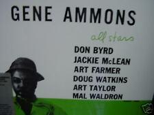 GENE AMMONS All Stars Byrd Farmer Mclean 1986 unique marketing sticker Sealed LP
