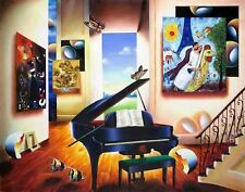 """""""Lover's Song"""" by Ferjo - Limited Edition, Giclee on canvas! Gallery Favorite!"""