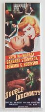 Double Indemnity Fridge Magnet (1.5 x 4.5 inches) insert movie poster