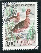 STAMP / TIMBRE FRANCE OBLITERE N°  2786 FAUNE / FULIGULE NYROCA
