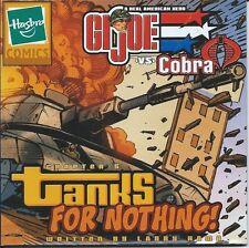 G I Joe Rare Mini Comic Giveaway Promo 5 Tanks For Nothing Larry Hama 2003