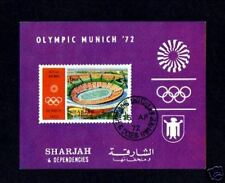 SHARJAH - 1964 - OLYMPICS - MUNICH - STADIUM - S/S!