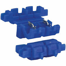 10PACK 3M 972 Scotchlok Self-Stripping In-Line Blade ATC Fuse Holders 18-14 Blue