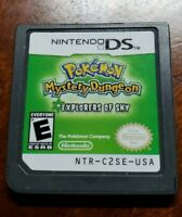 Pokemon Mystery Dungeon: Explorers of Sky Authentic DS
