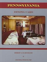 Pennsylvania Railroad DINING CARS -- (NEW BOOK)