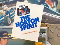 "Original 1978 ""The Norton Spirit"" Gould News Release Mears To Drive......"