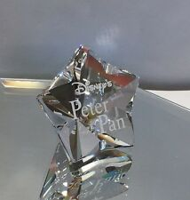 NEW SWAROVSKI CRYSTAL DISNEY PETER PAN TITLE PLAQUE 1036622 - TINK BNIB
