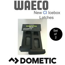 Dometic Cool Icebox CI Model Rubber Latch Pair Caravanning Camping 4wd
