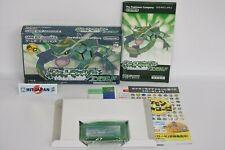 Pokemon Smaragd The Best Ref / 080 Game Boy Advance Nintendo Japan Spiel GBA