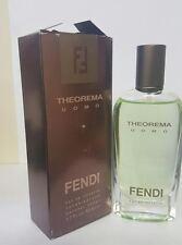 THEOREMA UOMO 1.7/1.6 OZ EDT SPRAY FOR MEN BY FENDI NEW IN DAMAGE BOX