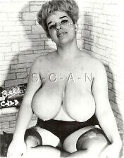 Vintage Original Années 1960 Chair Rp- Garter- Panties- Sits- Super Doué Blond