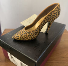 Just The Right Shoe By Raine Leopard stiletto 25017