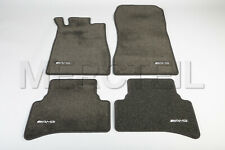 New Genuine Mercedes AMG LHD Velour Anthracite Floor Mats Set 4pc C208 CLK Class