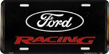 FORD RACING EMBOSSED METAL NOVELTY LICENSE PLATE TAG