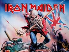 IRON MAIDEN - TROOPER FABRIC POSTER - 30x40 WALL HANGING - HFL0663