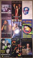 Classic VHS / VCR Tapes 1980s/1990s Music, Concerts, Live NOT DVD MOVIES Lot A