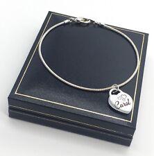 Personalizado El Dia De La Madre San Valentín pulsera de regalo de cumpleaños para su Caja de Regalo Gratis