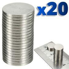 20 x Rare Magnet Round Disc Magnets Earth Neodymium Craft 10.1mm N50 Grade