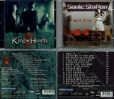 2 CD, King of Hearts - 1989 (2011) + sonic station-Next stop +4 (2016) AOR
