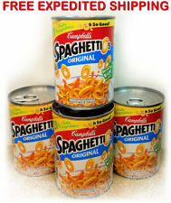 Campbell's SPAGHETTIOS ORIGINAL Natural Flavored Kitchen Instant Food (4 Cans)