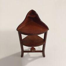 Vintage Dollhouse 1:12 House of Miniatures HEPPLEWHITE CORNER WASHSTAND