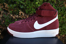 NIKE AIR FORCE 1 ULTRAFORCE  SZ 15 DARK TEAM RED SUMMIT WHITE 880854 600