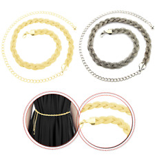 Silver Gold Women Mesh Belt Fashion Clothing Accessory for Party Dresses Outfits