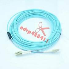 50M 10G OM3 Armored Cable Fiber Patch Cord LC to LC 3.0mm MM 50/125 Duplex