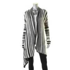 Billabong 4504 Womens B/W Striped Knit Cardigan Sweater Juniors L BHFO