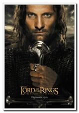 "The Lord Of The Rings 12""x8"" Vig Mortensen as Aragorn Movie Silk Poster"