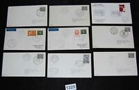 Netherlands lot of 27 covers with commemorative cancels 1960s  [FD1329]