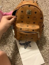 Authentic Mcm Mini Backpack