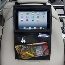 Back Seat Car Organiser with Tablet holder Travel iPad Galaxy Storage Bag Pocket