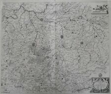 Brabant Mercator 1636 Mechelen Brussel Aarschot Leuven Tienen