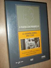 DVD A TEATRO CON LUIGI PIRANDELLO LA SIGNORA MORLI UNA E DUE ASTI BOSETTI