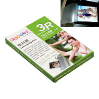 1 pack =100 Sheet,95x135mm 3R Laminating Pouch Film Glossy Protect photo paper