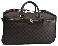 Authentic Louis Vuitton Damier Eole 50 Travel Bag Carry Case N23205 LV B9073