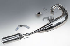 LAMBRETTA EXPANSION PIPE UPGRADED EXHAUST IN POLISHED STAINLESS STEEL