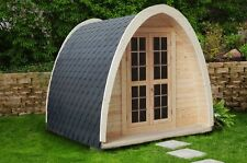 Campinghaus, Camping Pod, Ferienhaus, Wochenendhaus, Gartenhaus, Holz,38mm 38384