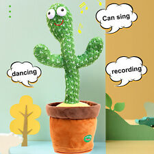 Dancing Cactus Plush Toy Electronic Shake Spin Cute Dance Doll kids Toys Gift