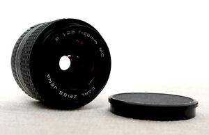 CARL ZEISS JENA 28mm 2.8 Wide Angle Lens for PRAKTICA B PB Bayonet SLR fit