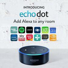 Amazon Echo Dot 2nd Generation Alexa Wireless Smart Speaker- Black- ***NEW***