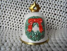 Vintage Goebel Christmas Bell 1986 Annual Christmas Tree Bell W. Germany